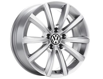 Merano Alloy Wheel 17 Brilliant Silver Volkswagen