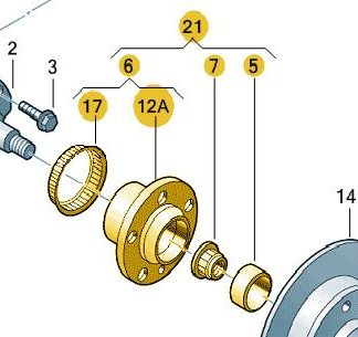 Rear Wheel Bearing