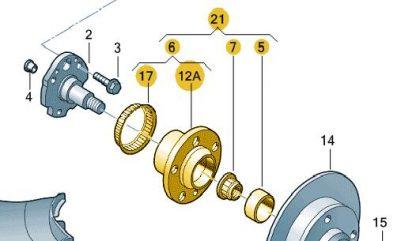 Rear Wheel Bearing