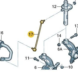 Front Suspension Drop Link