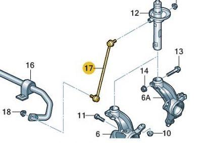 Front Suspension Drop Link