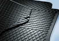 Tiguan [5N1], [5N2] Rear Rubber Floor Mats