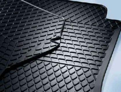 Up! [1S] Rear Rubber Floor Mats