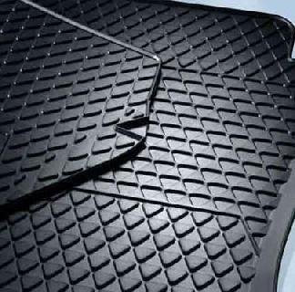 Polo [6R] Rear Rubber Mats