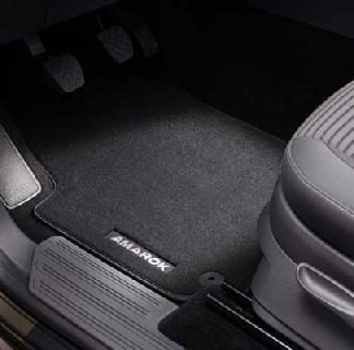 Amarok Rear Carpet Mats