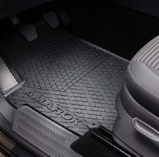 Amarok Rear Rubber Mats