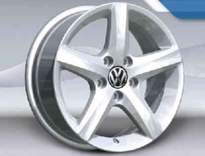 """Aspen Alloy Wheel - 16"""" Brilliant Silver"""