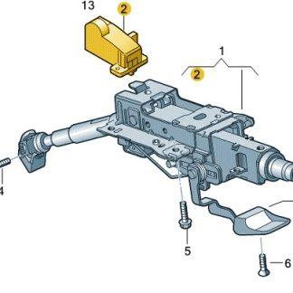 Electronic Steering Column Lock (ESCL)