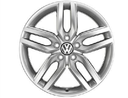 """Helix Alloy Wheel - 18"""" Sterling Silver"""