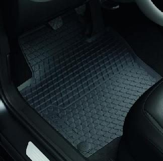 Beetle [5C] Rear Rubber Floor Mats