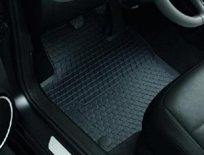 Beetle [5C] Rear Rubber Floor Mats