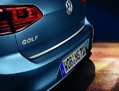 Golf Estate [5G5] Chrome Tailgate Protection