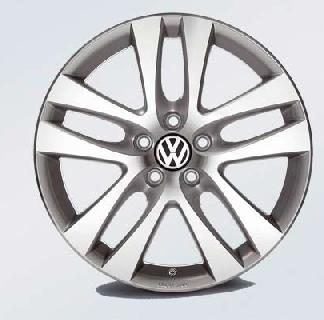 "Davenport Alloy Wheel - 18"" Brilliant Silver"