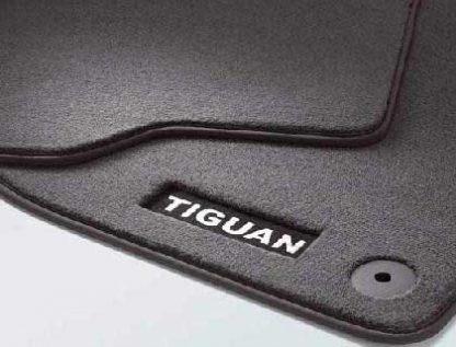 Tiguan [5N1], [5N2] Luxury Rear Carpet Mats