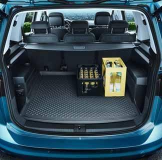 Touran [5TA] Flexible Boot Liner - 5 Seater