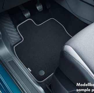 Touran [5TA] Luxury Carpet Mat Set