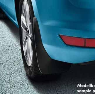 Touran [5TA] Rear Mudflaps