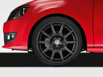 "Polo [6R] Motorsport Alloy Wheel - 17"" Black"
