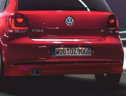 Polo [6R] Rear Chrome Strip
