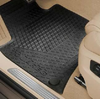 Touareg [7P] Rear Rubber Mats