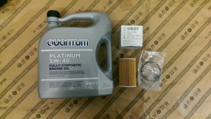 Oil Filter & Platinum Oil