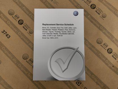 Duplicate Service Book
