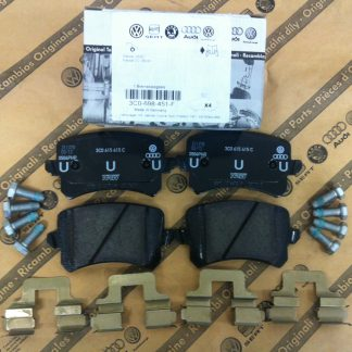 Rear Brake Pads - 3AA698451