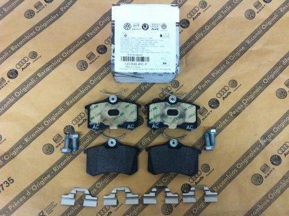 Rear Brake Pads - 1J0698451P