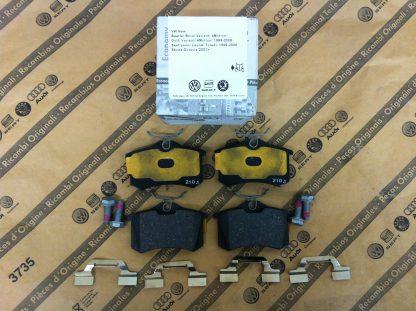 Economy Rear Brake Pads - JZW698451C