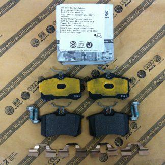 Economy Rear Brake Pads - JZW698451A