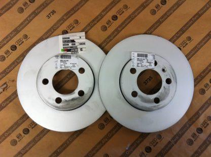 Front Brake Discs - 6R0615301C