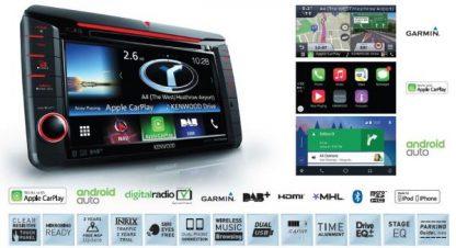 Kenwood DAB Multimedia System