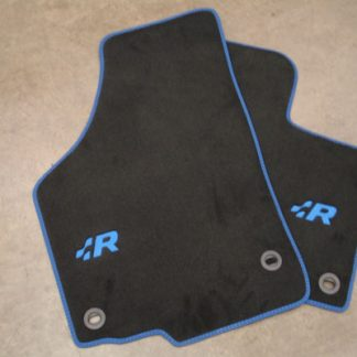 Golf R32 Carpet Mat Set - Blue