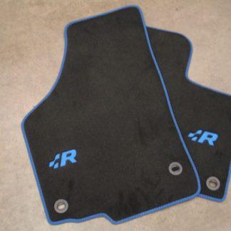 Golf R32 Carpet Mat Set - Blue